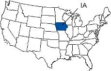 iowa area codes map Iowa Area Codes iowa area codes map