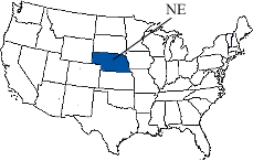 Nebraska Area Code Map